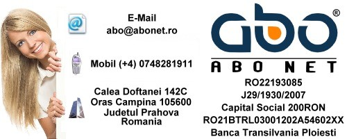 Informatii contact ABO NET Hosting domeniu inregistrare domeniu domeniu .com
